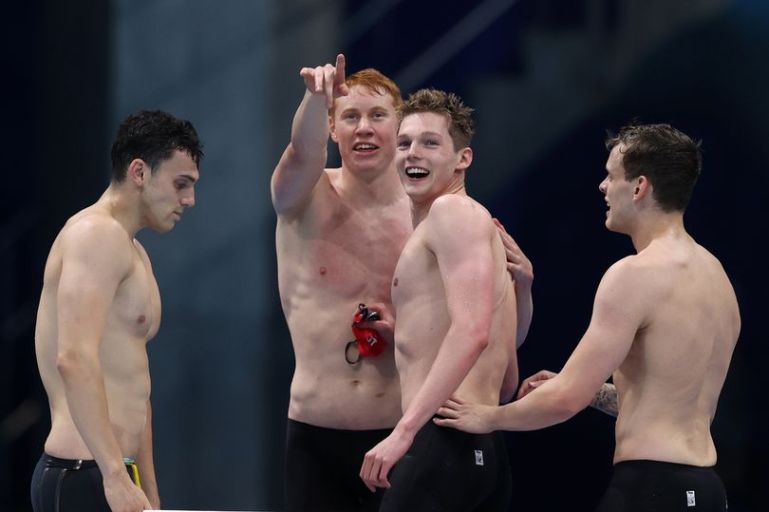 Historic Gold and Silver for Dean and Scott in Tokyo