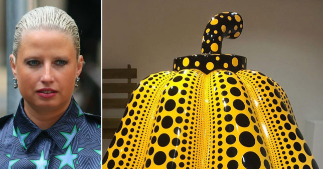 Art dealing socialite below £1m after swindling buyers over polka dot pumpkin
