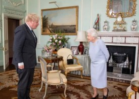Boris Johnson was claimed to have been keen to see the Queen at the start of the pandemic
