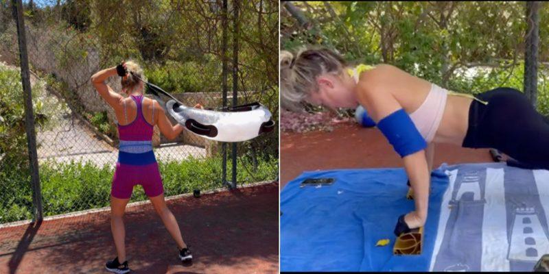 Kate Hudson's fitness equipment for core strength