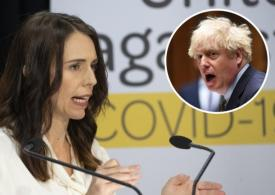 New Zealand government hits out at Boris Johnson's 'live with Covid' policy