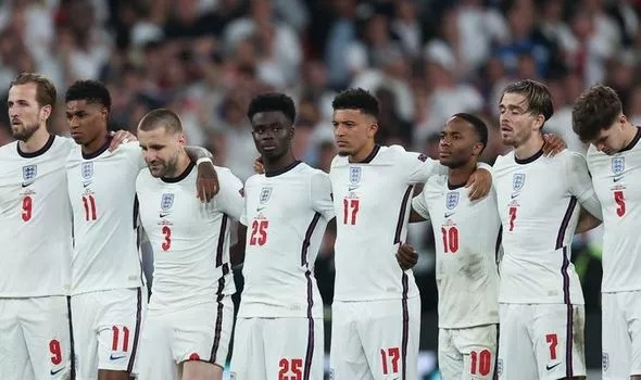 After England's defeat against Italy, FA issues a statement after its playersracially abused on social media.