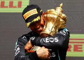 Lewis Hamilton racially abused online after British GP win