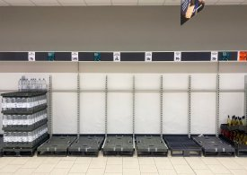 Shoppers urged to not panic-buy as shelves in Tesco, Lidl and Sainsbury's are stripped bare amid 'pingdemic' shortages