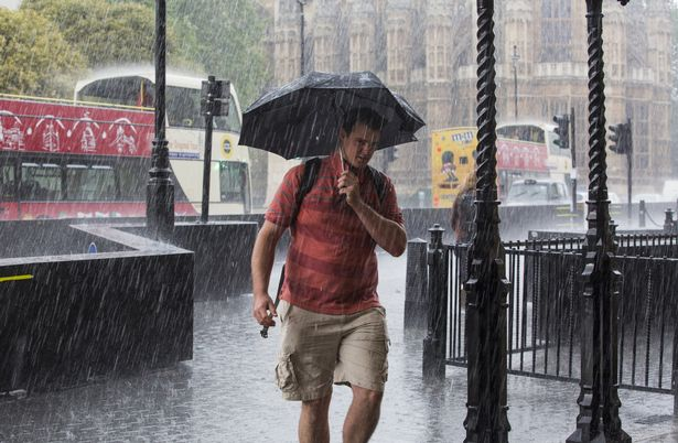 Storm Evert to blast Brits with 75mph winds and heavy rain