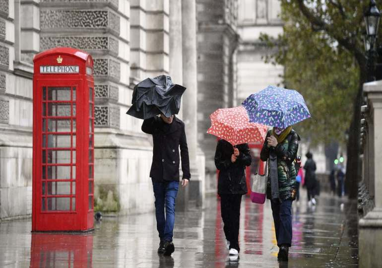 Storm Evert: high winds and heavy rain to hit south-west England