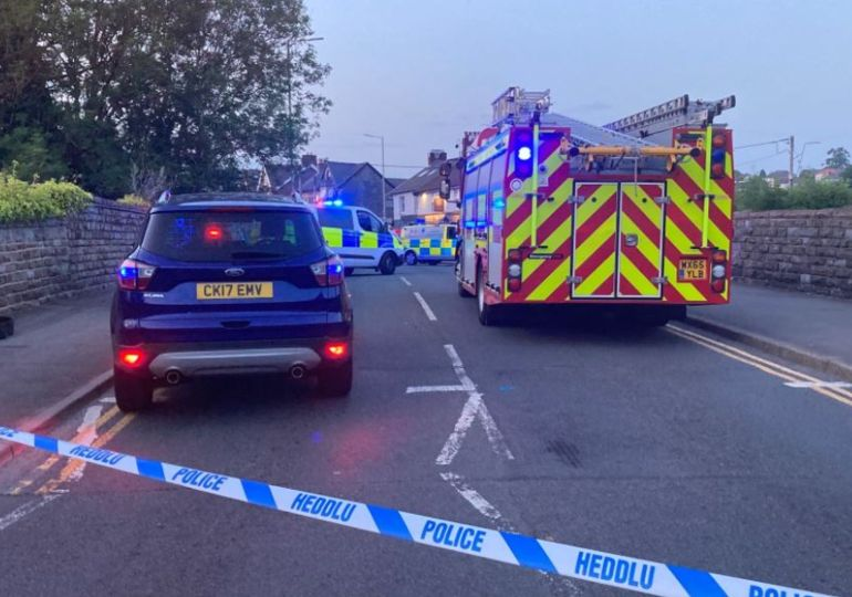 Six injured as car drives into crowd outside pub
