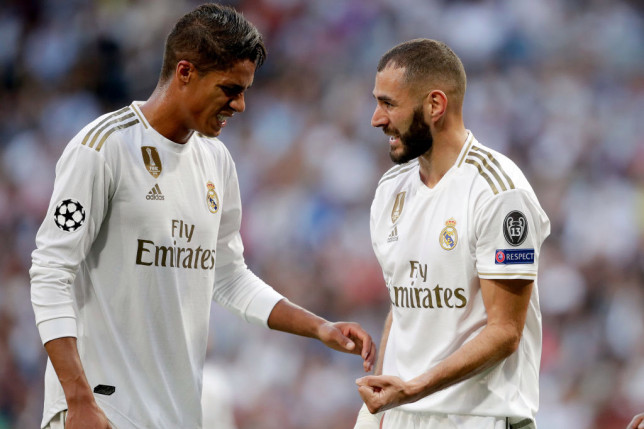 Karim Benzema sends message to Raphael Varane ahead of his move to Manchester United