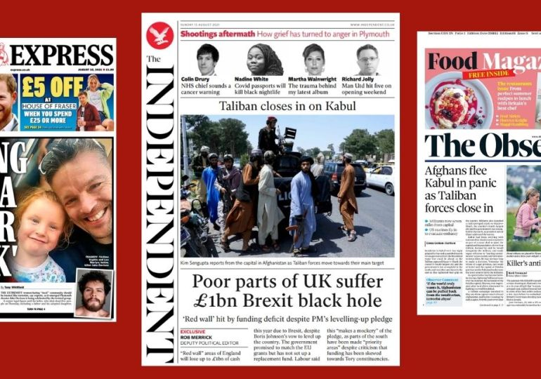 Sunday Papers - 'Killing spree is terror attack' - Afghans flee