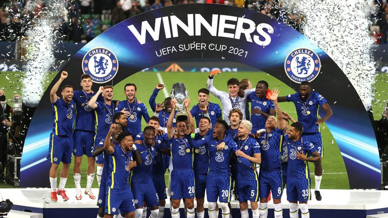 Chelsea edge Villarreal on penalties to clinch Uefa Super Cup