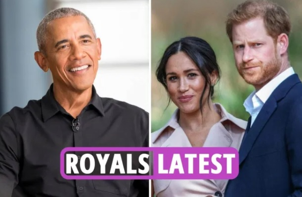 Utter HUMILIATION for Meghan and Harry 'as Barack & Michelle Obama choose Team Queen over Sussexes'