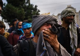 Shocking photos show horror reality for Afghans who are trying to escape Taliban