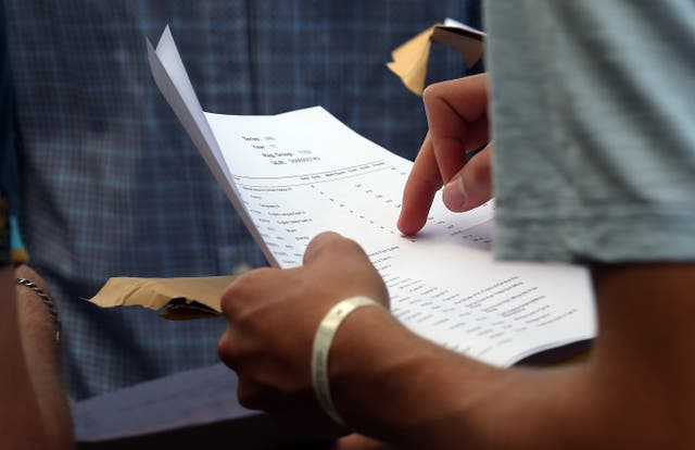 GCSE results day - Higher marks expected as Labour says 500k students to leave school without support