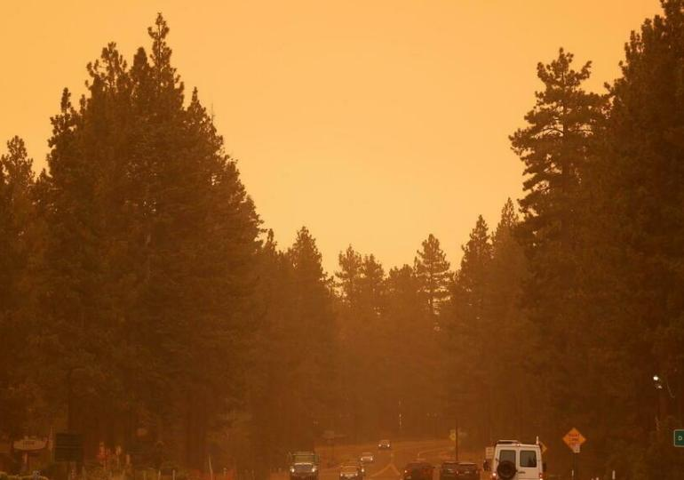 Wildfire prompts evacuation of South Lake Tahoe