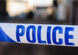 Man arrested after two boys shot with air rifle near primary school