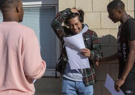 A-level results hit all-time high as 45% of grades are A or A*