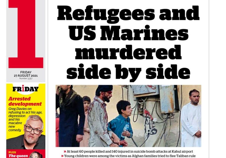 The i - 'Refugees and US Marines murdered side by side'