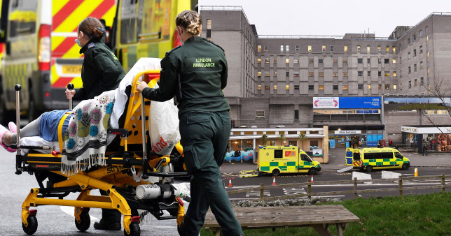 Hospital declares critical incident after shortage of beds due to Covid