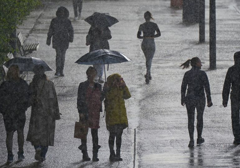 UK weather – Britain to be battered by heavy rain & thunderstorms this weekend as Hurricane Ida fallout barrels in