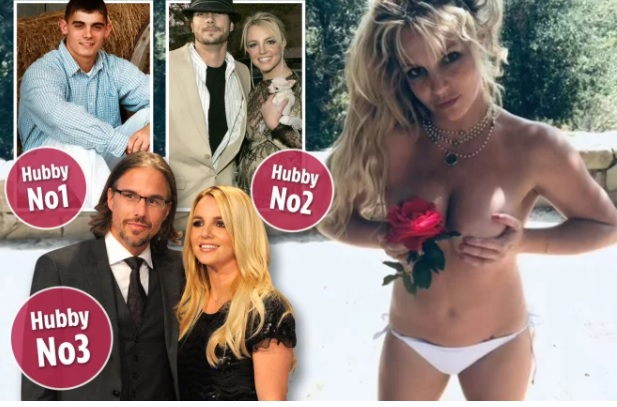 Britney Spears secretly got married for a THIRD time