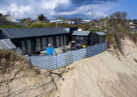 Village on brink of falling into the sea as locals admit 'nobody can help us'