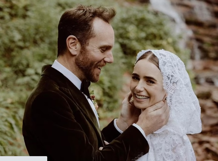Lily Collins MARRIES director fiancé Charlie McDowell