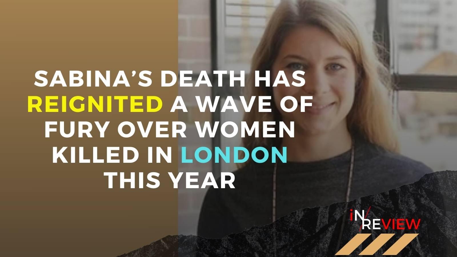 School teacher murdered Sabina Nessa Sarah Everard London murder