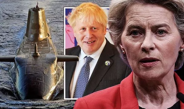 EU shamed by 'bigger, tougher' UK and US after Australia defence pact 'Full marks Boris'