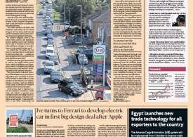 FT.com leads with fuel shortage severe healthcare disruption 28-09-2021