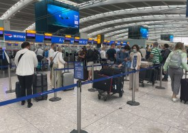 Heathrow travellers STILL face huge queues after officials say it's 'unacceptable' – as chaos hits Manchester airport