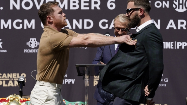 Canelo Alvarez vs Caleb Plant: Why the two fighters hate each other after press conference descends into brawl