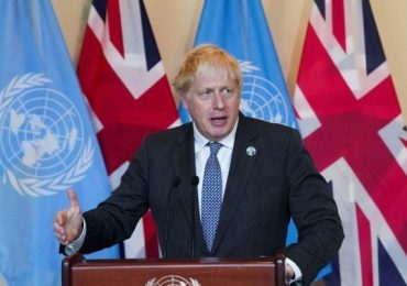 Boris Johnson tells UN that Cop26 must be 'turning point for humanity'