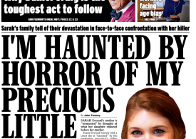 Daily Express - 'Haunted by Sarah's murder'