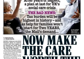 Daily Mail - 'Make the care worth the cost'