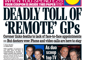 Daily Mail - 'Deadly toll of remote GPs'