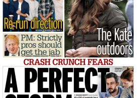 Daily Mirror - 'Cash crunch fears, a perfect storm'