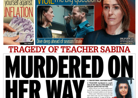 Daily Mirror - 'Murdered on way to first date'