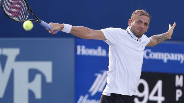 Dan Evans overcomes rain delays and injury concerns to reach US Open third round