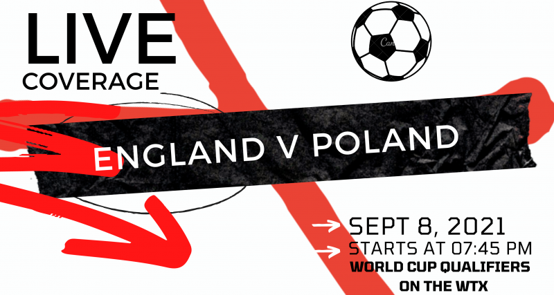 Poland vs England: Kick-off time, channel and how to watch World Cup qualifier