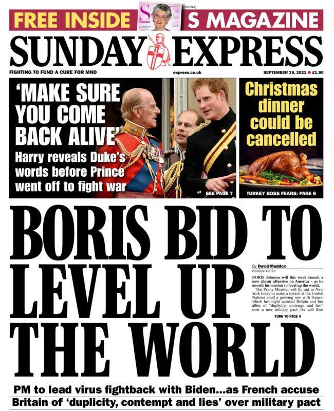 EU PM Boris Johnson Truss Aukus travel