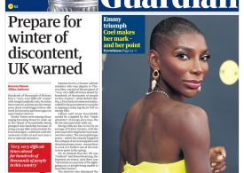 The Guardian - 'Prepare for winter of discontent'