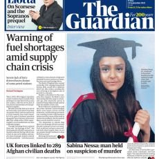 The Guardian – 'Warning of fuel shortages'