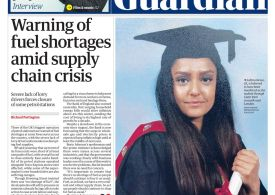 The Guardian - 'Warning of fuel shortages'