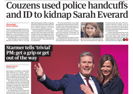 The Guardian - 'Couzens used handcuffs and police ID'