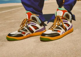 The Gucci Basket puts a luxury stamp on 80s basketball shoe style