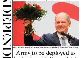 The Independent - 'Army to be deployed as fuel hits 8-year high'