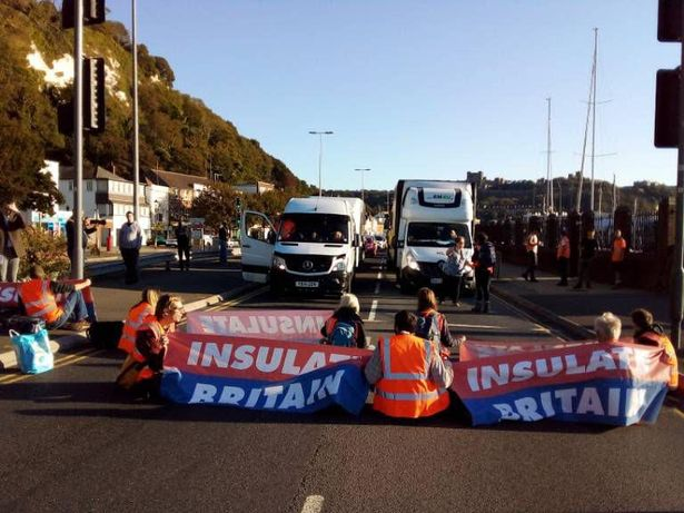 Port of Dover is blocked by Insulate Britain activists following M25 protest ban