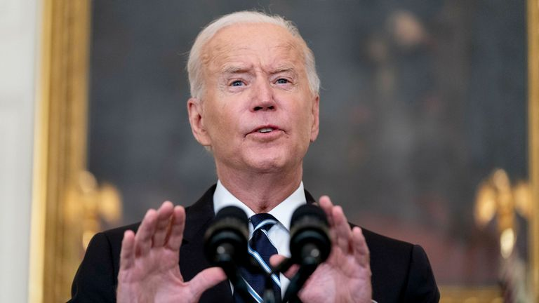 Biden turns up the heat on the unvaccinated with firms facing fines if their workers refuse the jab