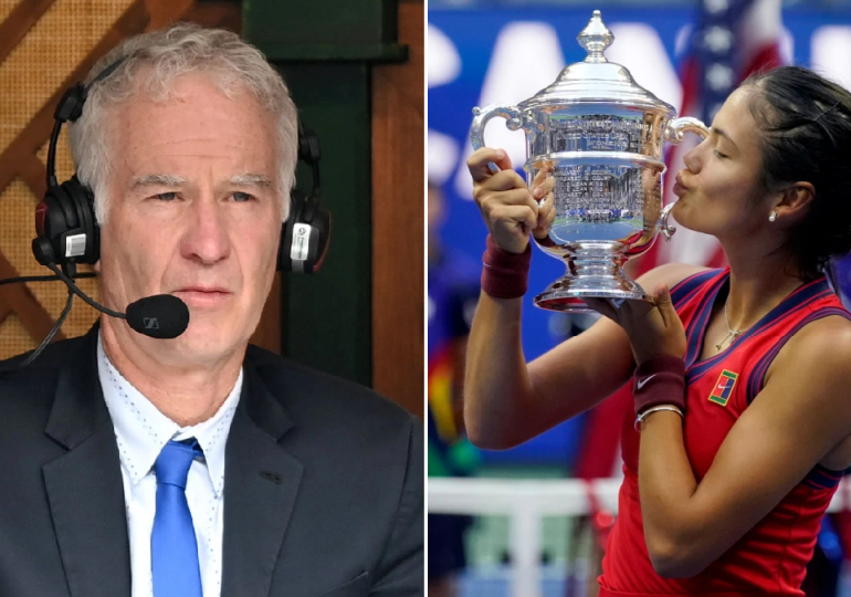 John McEnroe stands by controversial Emma Raducanu comments after stunning US Open victory