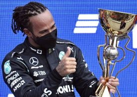 Hamilton wins 100TH F1 Grand Prix with amazing late victory in Sochi to reclaim title lead and deny Norris first win